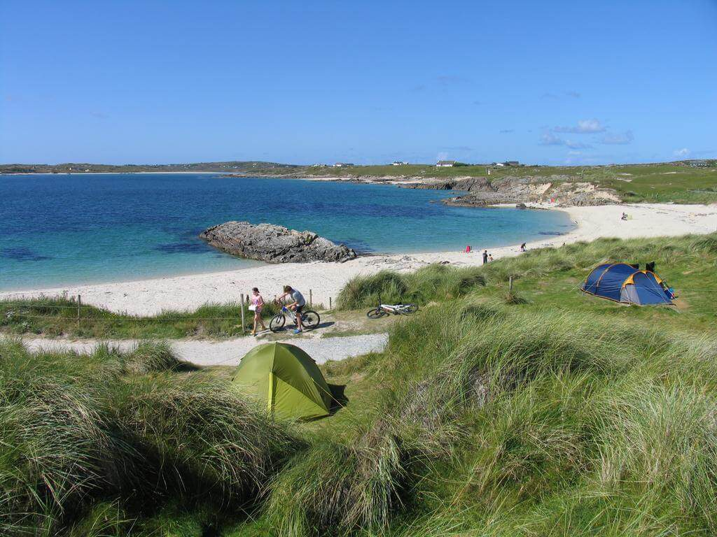Clifden Eco Beach Camping & Caravanning Park Galway ...
