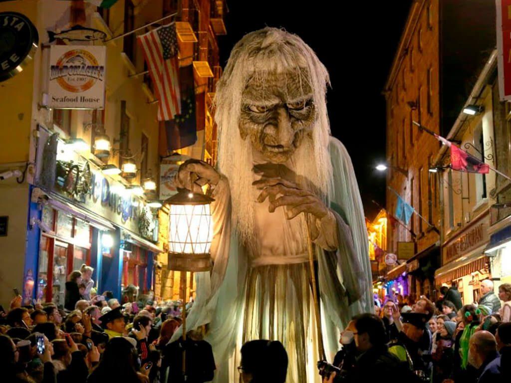 Galway Halloween 2020 Macnas Halloween Parade 2020 event in Galway, Ireland.