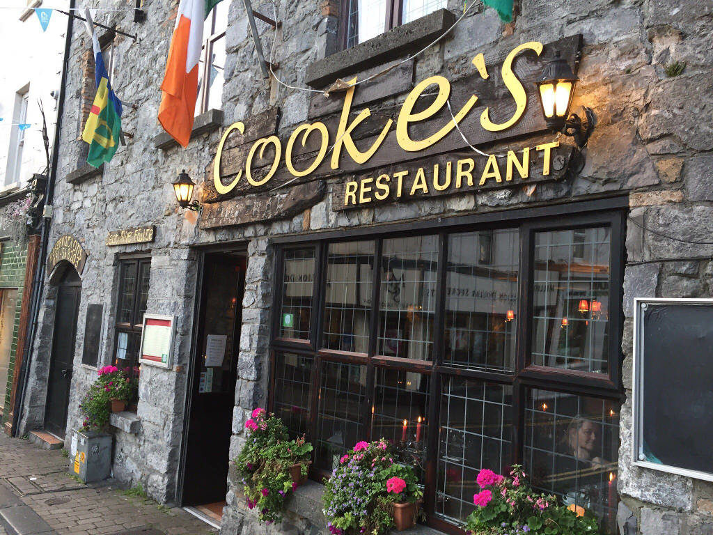 Cookes Restaurant And Wine Bar Galway Photos Reviews And